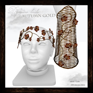 Dyonisos bride Autumn Gold