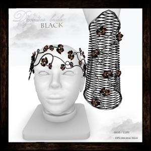 Dyonisos bride black